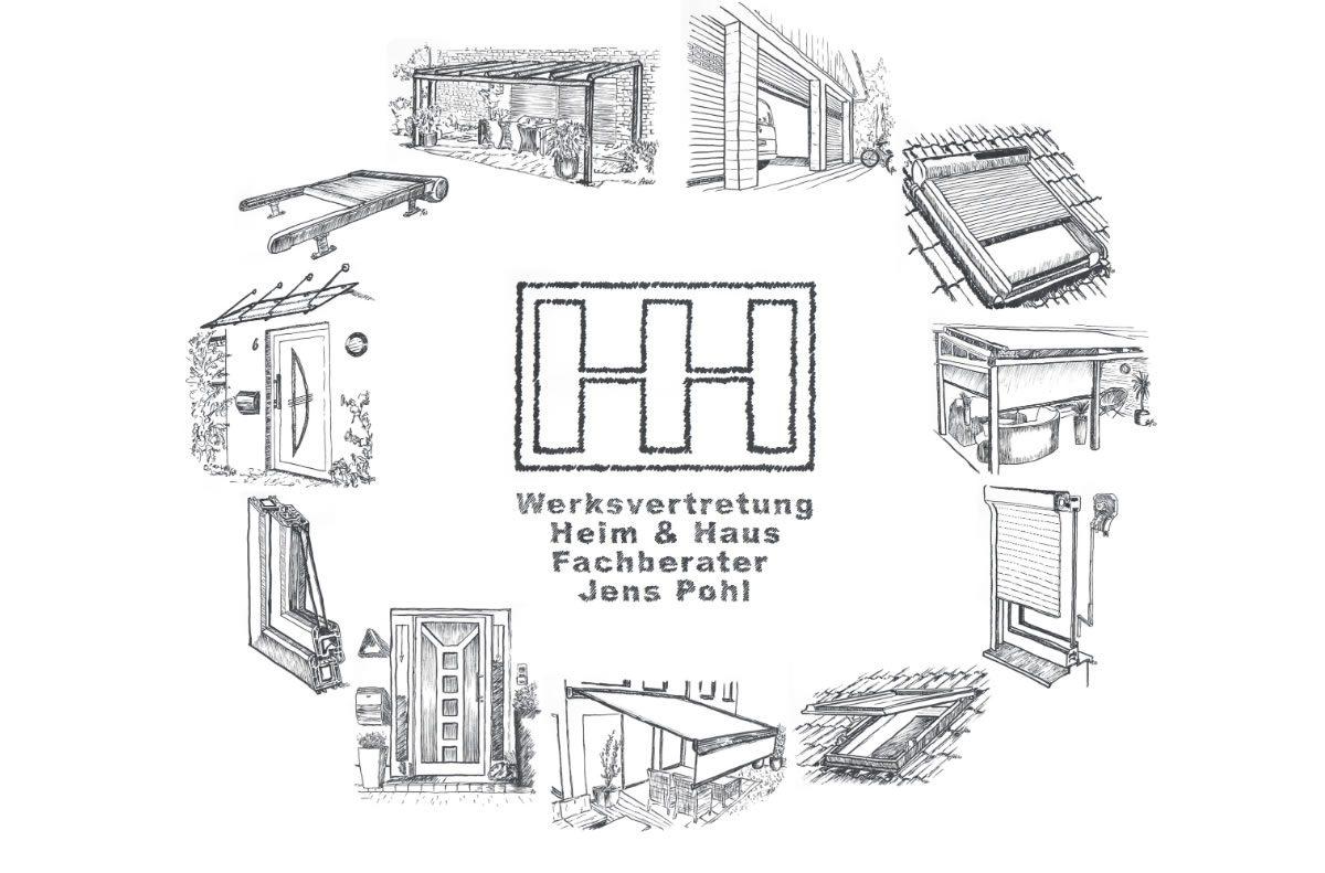 Markisen Neckarzimmern | Heim & Haus Bauelemente ➤ Terrassendach & ✓ Fensterbau & Fenster