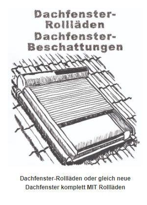 Dachfenster-Rollläden & Dachdenster Beschattungen bei 74251 Lehrensteinsfeld